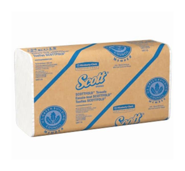 Kimberly-Clark Professional Scott Pro Scottfold* Towels  White; Size: 9.4