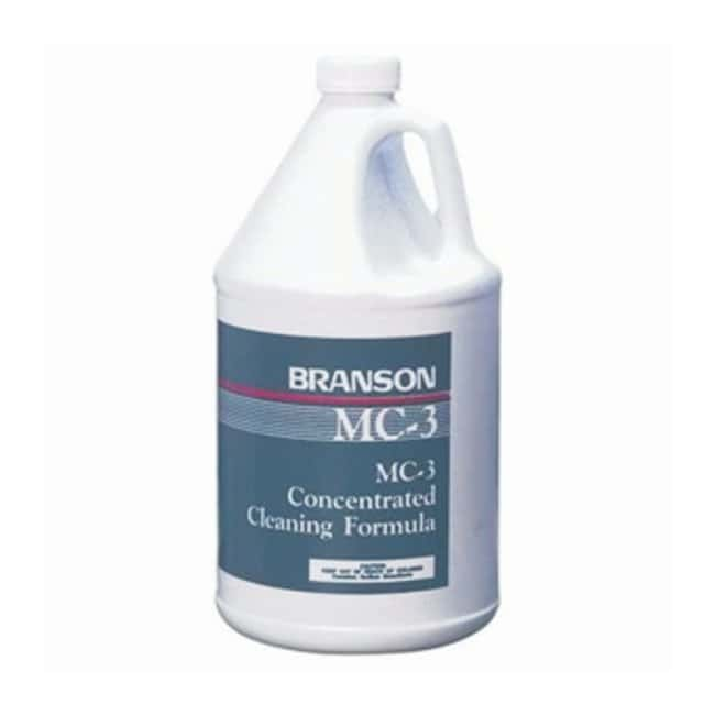 Branson Ultrasonics Bransonic Metal Cleaners Metal cleaner; MC-3; Gallon:Wipes,
