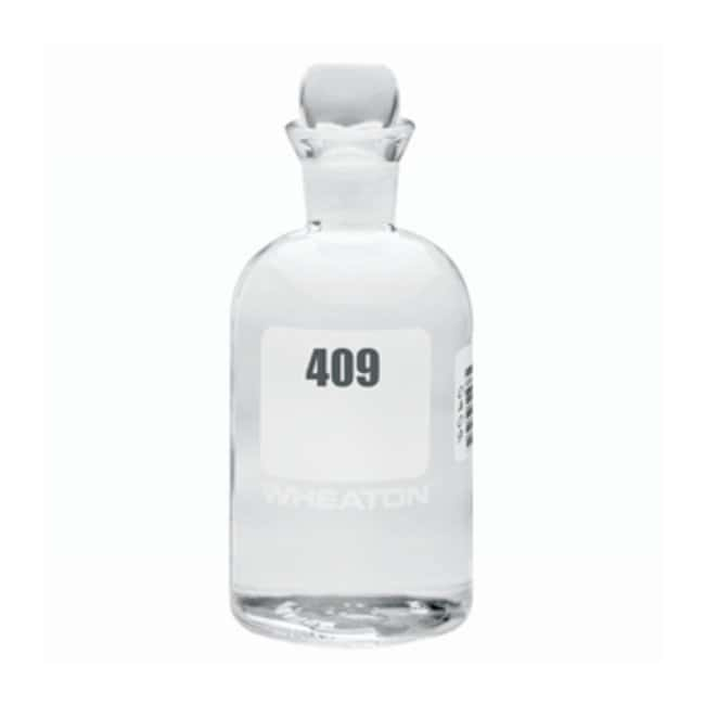 DWK Life Sciences Wheaton™ Type I Borosilicate BOD Bottles Number sequence: 409 to 432 DWK Life Sciences Wheaton™ Type I Borosilicate BOD Bottles