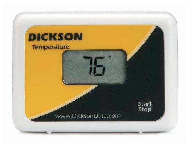 Dickson Start/Stop Temperature Data Logger with Digital Display Start/Stop