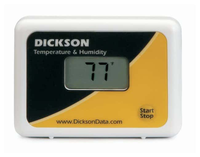 DicksonStart/Stop Temperature and Humidity Logger Temperature and Humidity