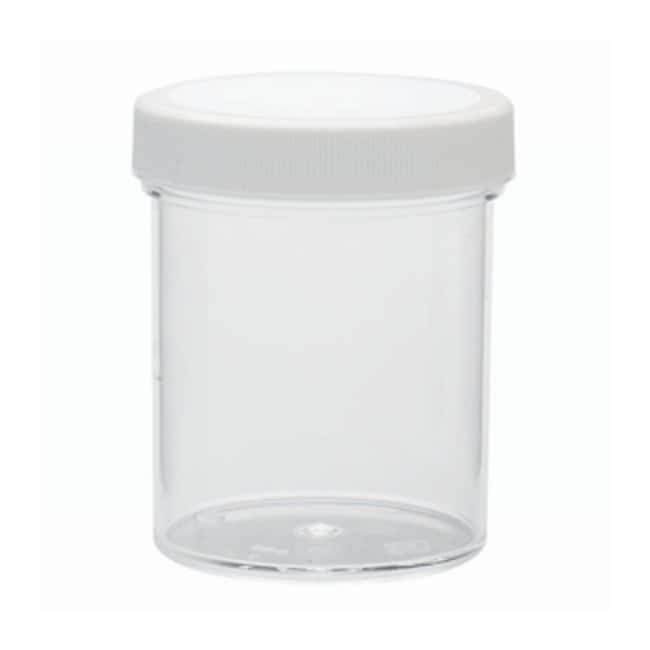 DWK Life SciencesWheaton™ Jars with Polypropylene Screw Cap Pre-attached polypropylene screw cap w/foamed polyethylene liner; 125mL Products