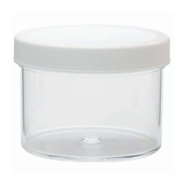 DWK Life SciencesWheaton™ Jars with Polypropylene Screw Cap Pre-attached polypropylene screw cap w/foamed polyethylene liner; 250mL Products