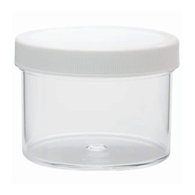 DWK Life SciencesWheaton™ Jars with Polypropylene Screw Cap Pre-attached polypropylene screw cap w/foamed polyethylene liner; 250mL DWK Life SciencesWheaton™ Jars with Polypropylene Screw Cap