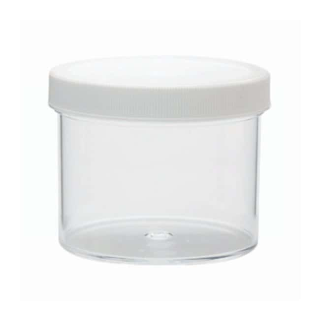 DWK Life Sciences Wheaton™ Jars with Polypropylene Screw Cap Pre-attached polypropylene screw cap w/foamed polyethylene liner; 1000mL DWK Life Sciences Wheaton™ Jars with Polypropylene Screw Cap