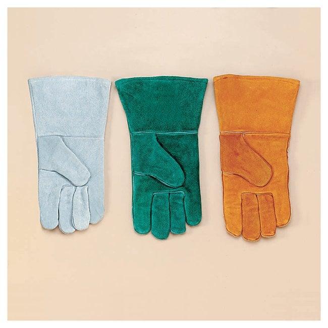Fisherbrand Welder's Gloves Standard grade; Side style; Russet:Gloves,