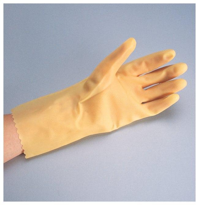 West Chester Premium Posigrip Amber Latex Gloves Size: 9:Gloves, Glasses