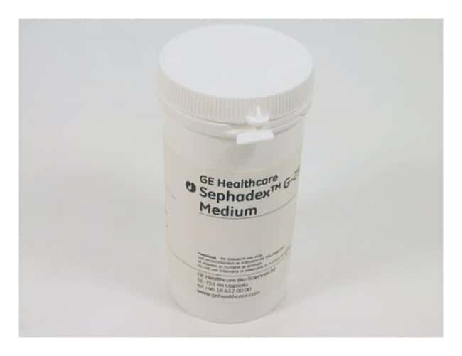 Cytiva (Formerly GE Healthcare Life Sciences) Sephadex™ G-25 Medien Medium; Particle size: 38 to 235μm; 100g Cytiva (Formerly GE Healthcare Life Sciences) Sephadex™ G-25 Medien