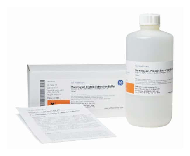 GE Healthcare Mammalian Protein Extraction Buffer 500mL:Life Sciences