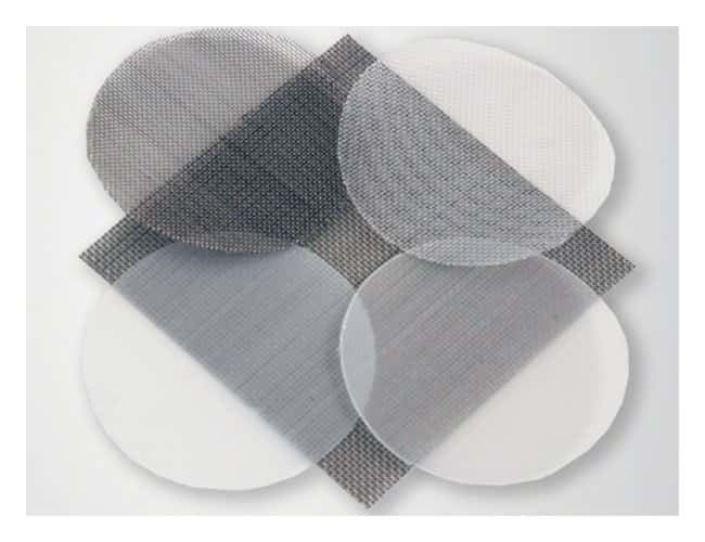 Spectrum™ Spectra Mesh™ Woven Filters Polypropylene; Mesh opening: 250um; Thickness: 430um; Open area: 31%; 55mm dia. discs Spectrum™ Spectra Mesh™ Woven Filters