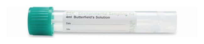 PuritanESK Environmental Sampling Kits with Pre-filled Butterfields Solution