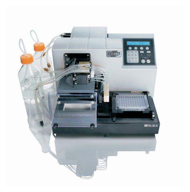 BioTek™EL406 Mikrotiterplatten-Reinigungsgerät/-Spender Drei Reagenzien-Dispenser; 96-Schlauchverteiler BioTek™EL406 Mikrotiterplatten-Reinigungsgerät/-Spender