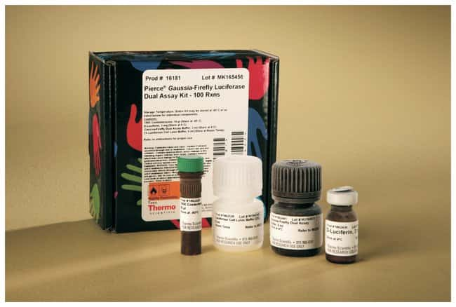 Thermo Scientific Pierce Gaussia-Firefly Luciferase Dual Assay Kit:Life