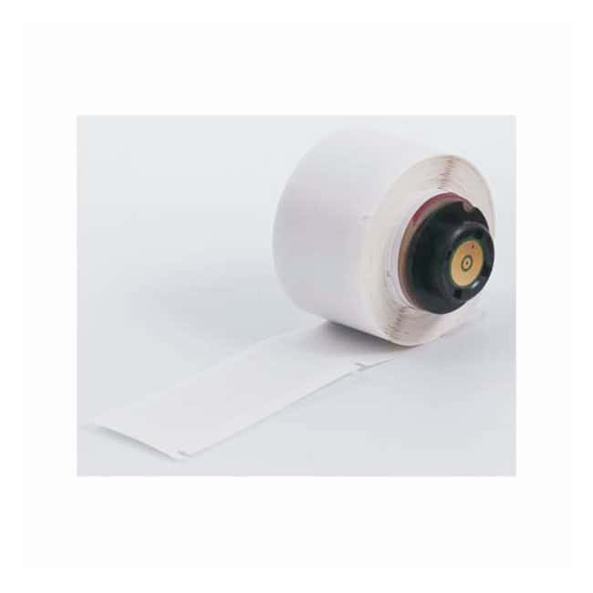 BradyTLS2200 and TLS-PC Vial Labels Vinyl; White with Clear Topcoat:Gloves,