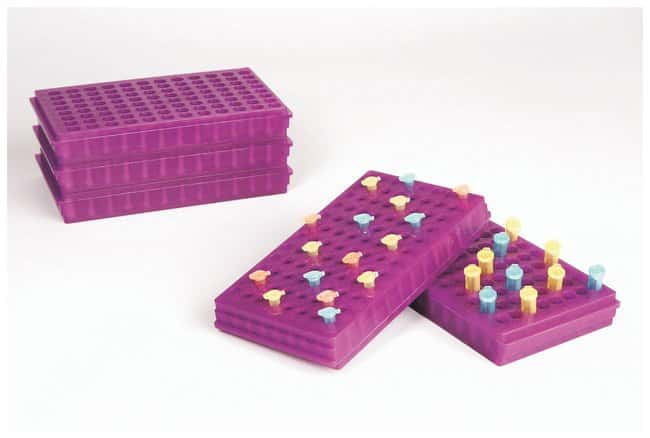 Fisherbrand Microcentrifuge Tube Racks Color: Lavender:Racks, Boxes, Labeling