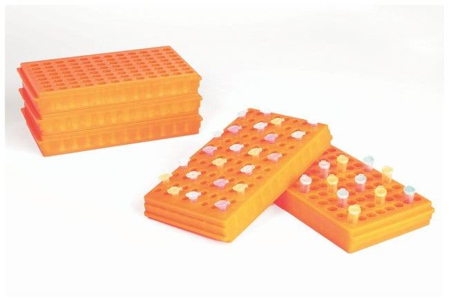 FisherbrandMicrocentrifuge Tube Racks Color: Fluorescent Orange:Racks