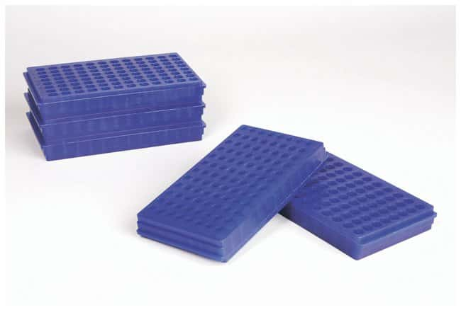 Fisherbrand Microcentrifuge Tube Racks Color: Blue:Racks, Boxes, Labeling