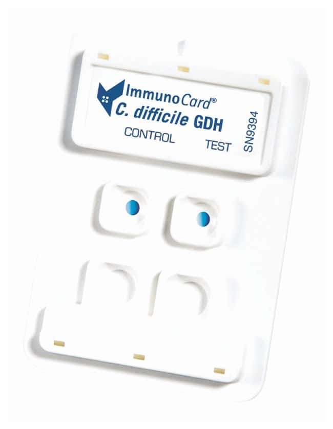 Meridian Bioscience Immuno Card C. difficile GDH C. difficile GDH detection:Diagnostic
