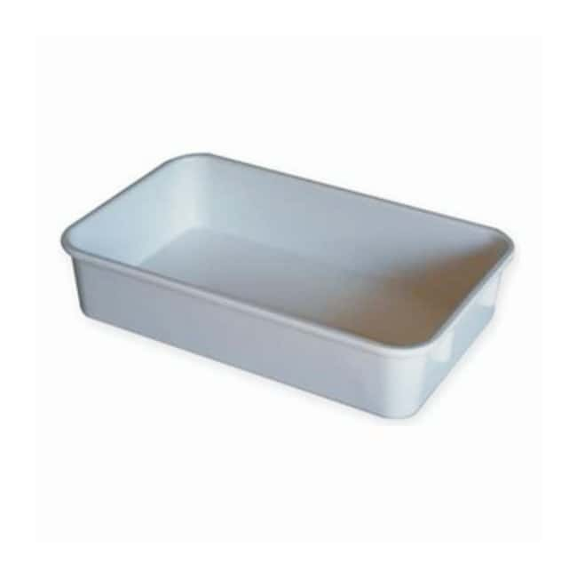 MFG TrayTote Box Top (O.D.): 9.75L x 6.125W x 2.125in. H; Color: Yellow:Dishes