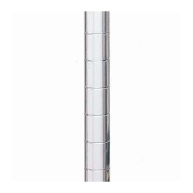 Metro™Super Erecta™ SiteSelect™ Posts Mobile; Stainless-steel; Height: 86.62 in. (220cm) Metro™Super Erecta™ SiteSelect™ Posts