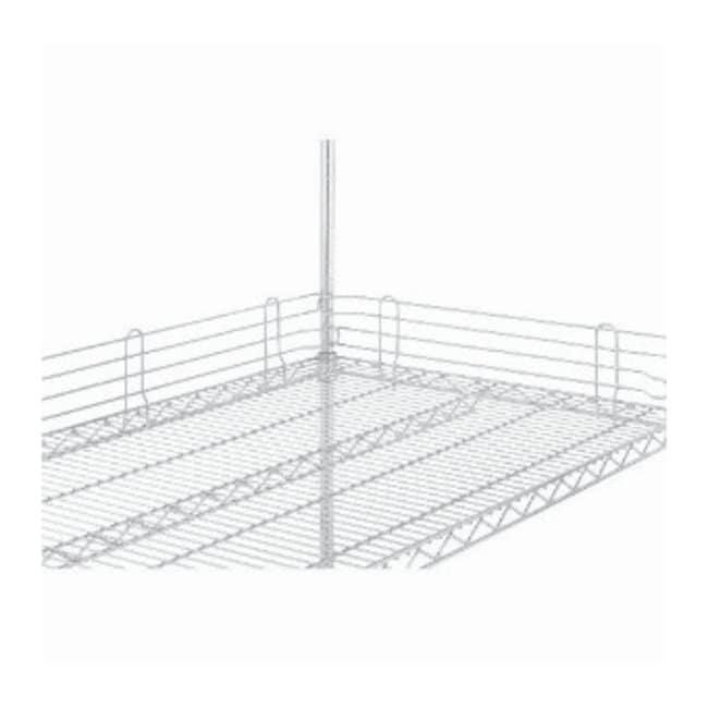 metro super erecta wire shelving accessory  shelf ledge