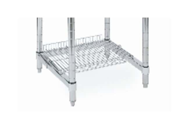 Metro™Stainless Laboratory Worktable Accessory, Wire Shelf Stainless-steel; Length: 52.375 in. (133cm) Metro™Stainless Laboratory Worktable Accessory, Wire Shelf
