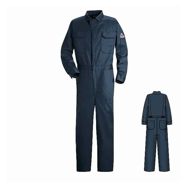 VF Workwear Bulwark Excel FR Arc-Rated Coveralls Chest: 46 in.; Regular:Gloves,