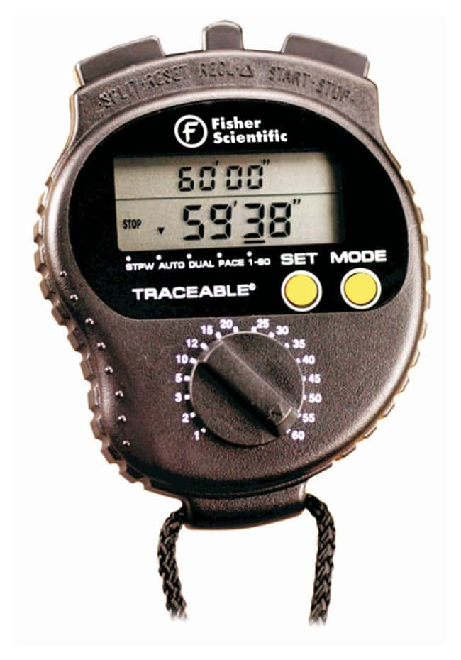 Fisherbrand™Traceable™ Countdown Stopwatch Traceable Countdown Stopwatch Fisherbrand™Traceable™ Countdown Stopwatch