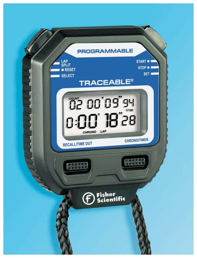 Fisherbrand™Traceable™ Stopwatch/Repeat Timer