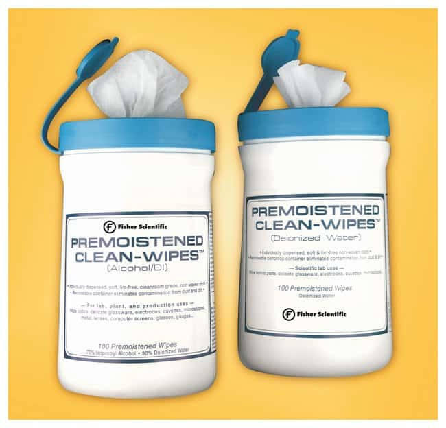 Fisherbrand Premoistened Wipes - Gloves, Glasses and Safety, Facility  Maintenance and Safety