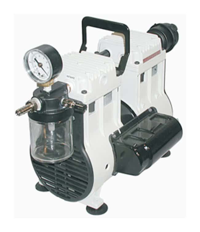 Welch Standard Duty WOB-L Piston Vacuum Pump: Model 2581 Wired for 230V,