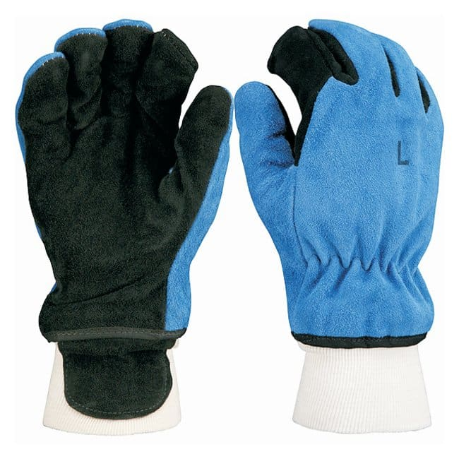ShelbyStructural Fire Fighting and Steamblock Gloves Royal blue and black