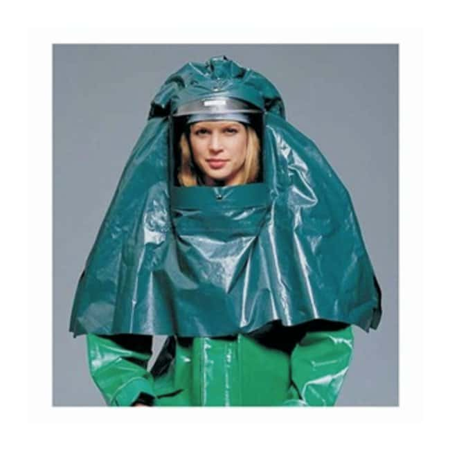 Oberon Splash Hood Splash hood and window, chemical resistant, anti-fog:Gloves,