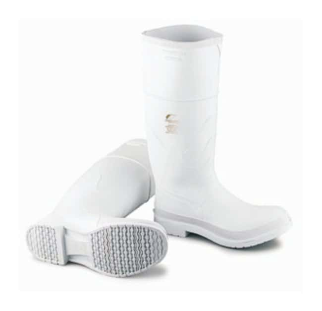 Dunlop Onguard White PVC Boots Plain toe; Size: 6:Gloves, Glasses and Safety