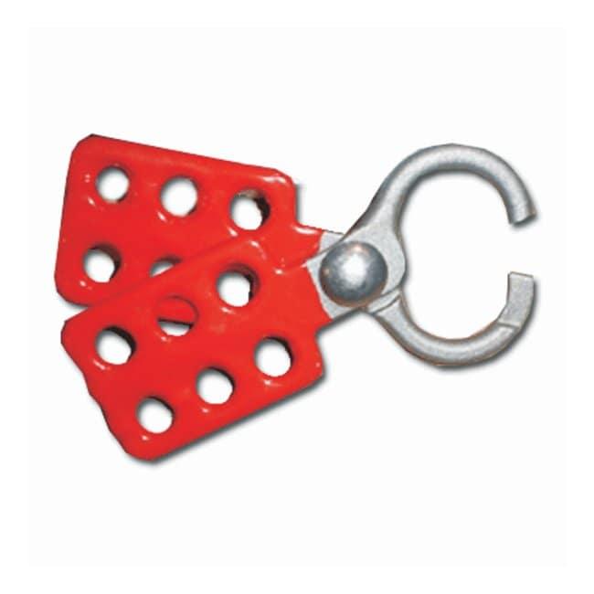 OsbornSteel Lockout Devices Alloy: steel; Hasp dia.: 1 in.; Hole size (dia.):