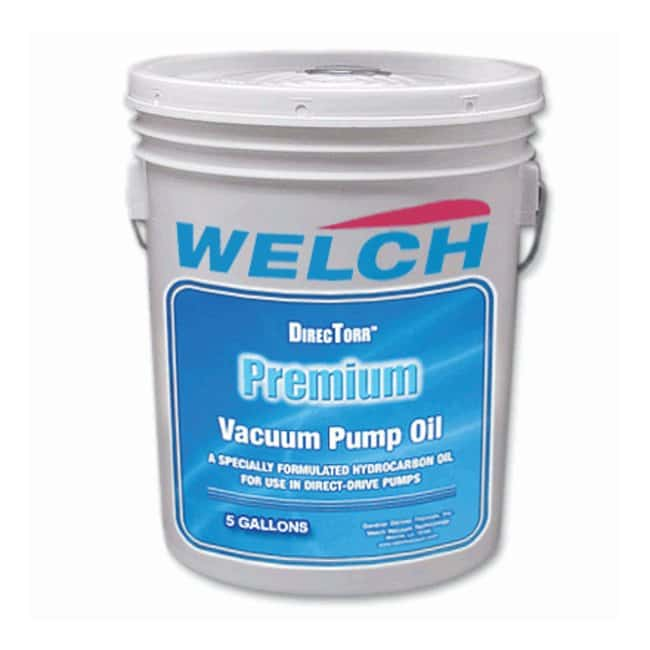 Welch Oil for Vacuum Pumps Vacuum pump oil; 5 gal. (19L):Pumps and Tubing