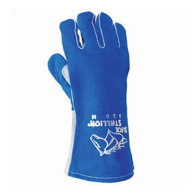 Black Stallion™ CushionCore Quality Side Split Cowhide Stick Welding Gloves