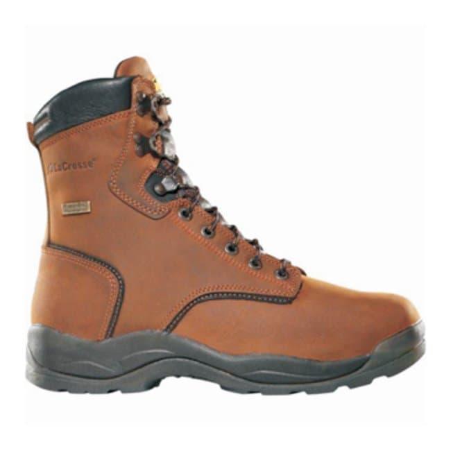 LaCrosse Quad Comfort 4 x 8 Steel Toe Work Boots Size: 6.5W:Gloves, Glasses