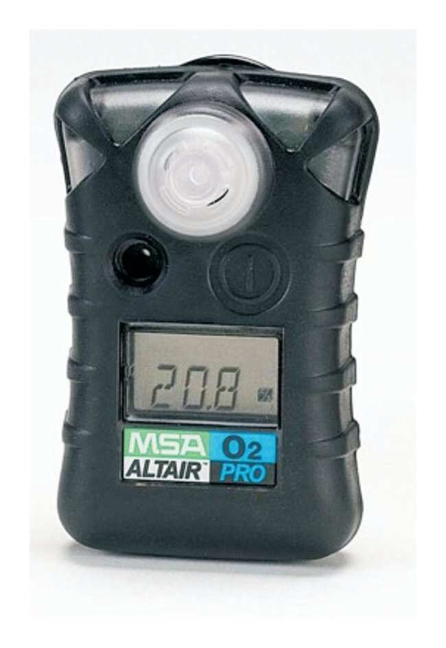 MSA ALTAIR Pro Single-Gas Detectors (Alternate Setpoint Models) Detects