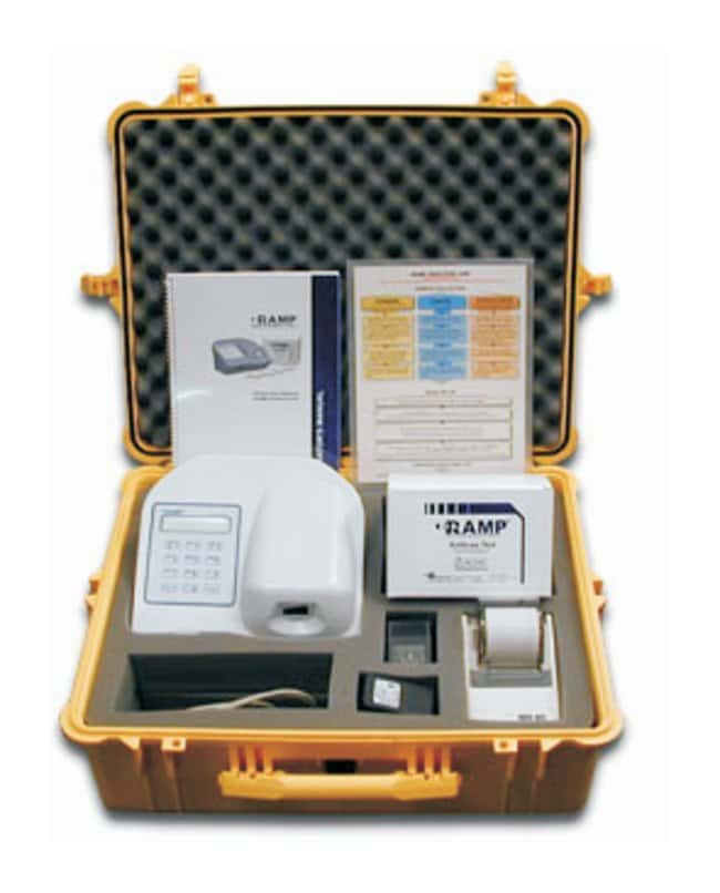 Response Biomedical RAMP Device Test Kits  Anthrax Test Kit for RAMP Device:First