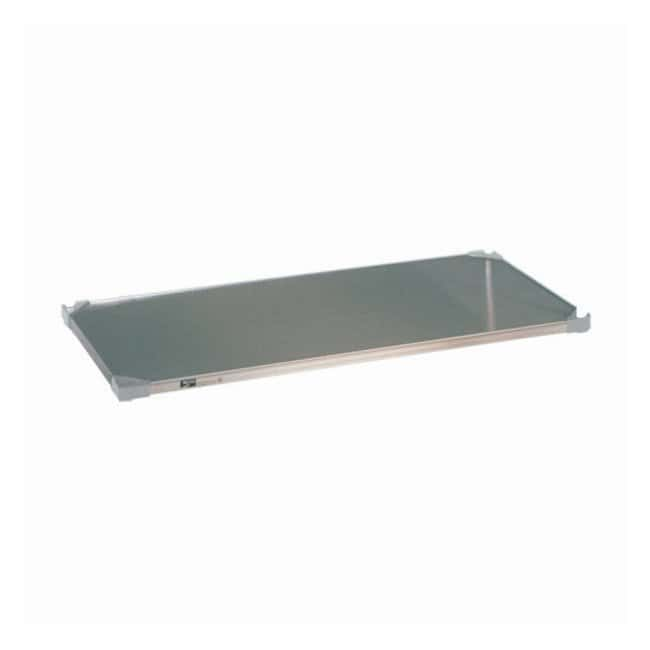 Metro™Super Erecta™ Solid Shelf, Stainless Steel, Autoclavable and Cart-Washable 14 x 48 in. (35.5 x 121.9cm) (W x L) Metro™Super Erecta™ Solid Shelf, Stainless Steel, Autoclavable and Cart-Washable