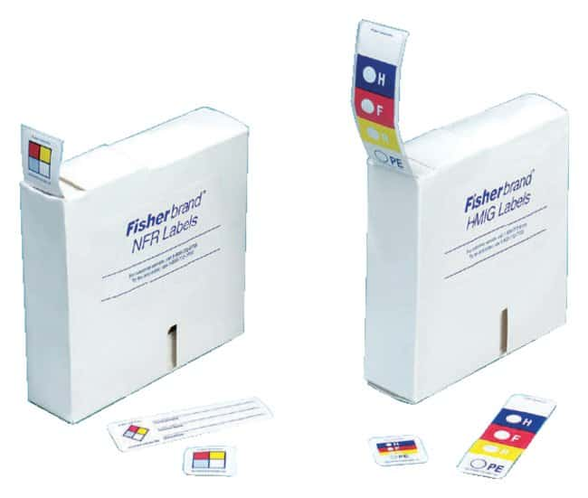 Fisherbrand HMIG and NFR Dispenser Labels :Gloves, Glasses and Safety:Facility