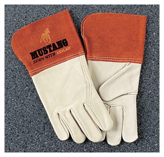 MCR Safety Memphis Mustang MIG-TIG Welder's Gloves Large:Gloves, Glasses