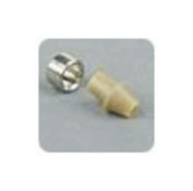 Idex LiteTouch Ferrule, Natural PEEK/SS, 1/16 in. OD Tubing, 10-32 Coned