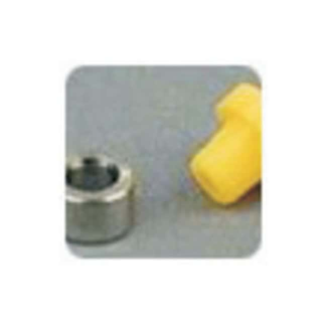 Idex Flangeless Fittings: Ferrules, Tefzel For O.D. tubing: 1/16 in.; Yellow;