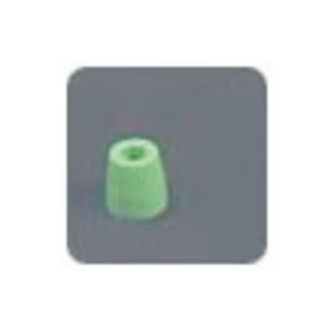 Idex Flangeless Fittings: Ferrules, Tefzel Ferrule; Tefzel (ETFE); Green;