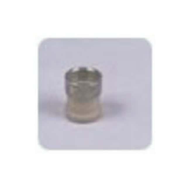 Idex Flangeless Fittings: Ferrules, Tefzel Ferrule w/SS lock ring; Tefzel