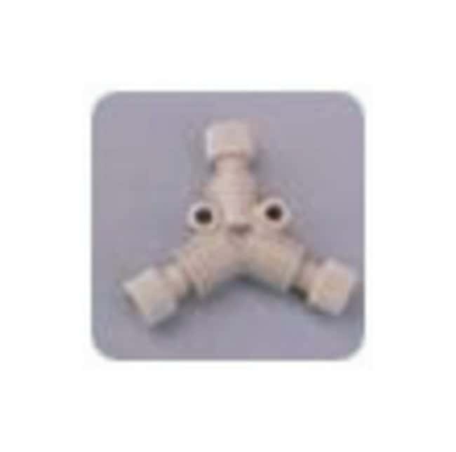 Idex Low Pressure Y Connectors With P-235/P-200 fittings; Swept volume: