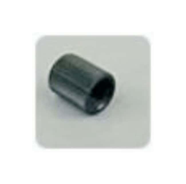 Idex Threaded Plugs and Caps Cap; ETFE; Color: Black:Chromatography