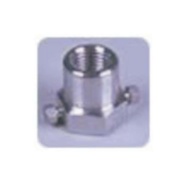 Idex High-Pressure Tees Pressure gauge tee; SS; 10-32/1/4 in. NPT:Chromatography